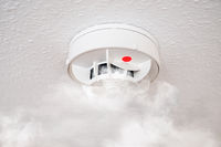 smoke detector or fire alarm