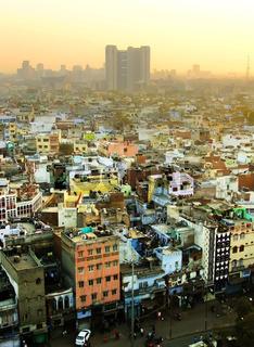 View of Delhi from Jama Masjid