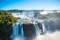 Iguazu Falls or Devils Throat