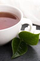 Aromatic Green Tea, fresh tea leaves