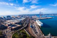 Durban Harbor Air Landscape