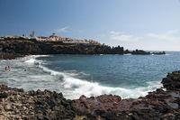 Playa de la Arena in Alcala, Teneriffa, Kanarische Inseln, Spanien, Europa
