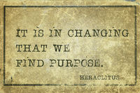 purpose change Heraclitus