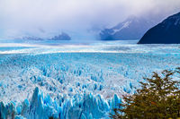 The glacier Perito Moreno