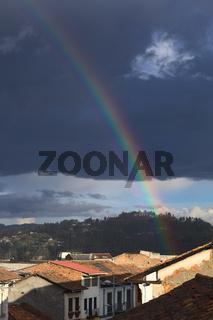 Rainbow Over Cuenca, Ecuador