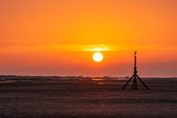 Oranger Sonnenuntergang am Meer-3.jpg