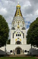Russische Gedächtniskirche,St.-Alexi-Gedächtniskirche zur Russischen Ehre, Leipzig, Deutschland