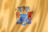 New Jersey flag, USA