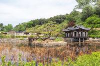 Hwallaejeong pavilion in Seongyojang