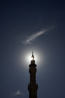 Minarett in Amman in Jordanien