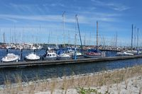 Fehmarn, Boote im Yachthafen
