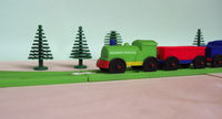 toy train and railway