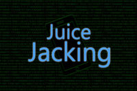 illustrative example showing of Juice Jacking or Hacking a cyber attack done on mobile.