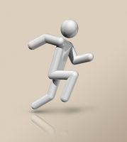 Athletics 3D icon, Olympic sports