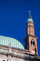 torre di piazza in vicenza, italien