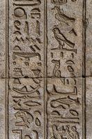 ancient egypt hieroglyphics on wall