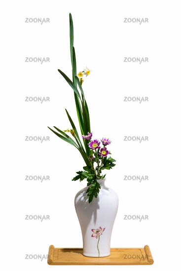 flower arrangement isolated