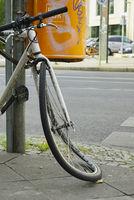 Unfallfahrrad, Berlin, Deutschland