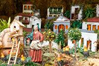Detail of Christmas Belen