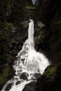 Der Riesachfall im Untertal bei Schladming, Steiermark, Österreich
