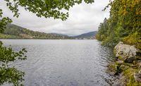Lac de Gerardmer in France