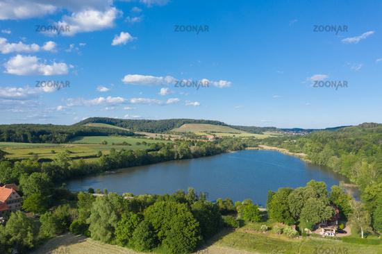 Landschaft mit Aalkistensee bei Maulbronn