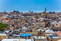 Jerusalem on a beautiful autumn day