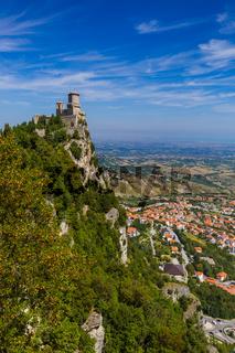 Castle of San Marino - Italy