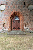 Backsteinkirche in Nienwalde im Wendland, Niedersachsen