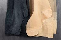 Pair of the various nylon stockings