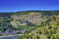 Burg Stahleck in Bacharach im UNESCO Welterbe Mittelrheintal