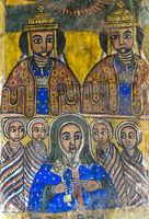 Die zwei Königsbrüder Abreha and Atsbeha (Ezana und Saizana)