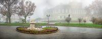 Theatre square in Odessa, Ukraine