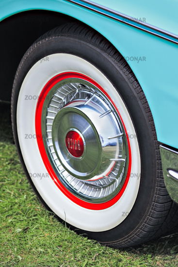 Close-up Part of an Old Buick
