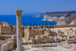 Ancient Kourion archaeological site in Limassol Cyprus