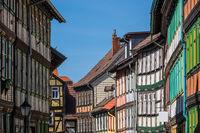 Historische Gebäude in Wernigerode im Harz