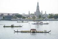 THAILAND BANGKOK ROYAL BARGE PROCESSION