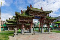 Winter Palace of Bogd Khan in Mongolia