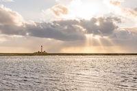 Leuchtturm Westerheversand | Lighthouse Westerheversand in the natinal park Schleswig-Holstein Wadden Sea