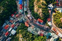 Aerial Panoramic view to the Andreevsky Descent