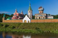 Staroladozhsky Nikolsky Monastery in the village of Staraya Ladoga - Leningrad region Russia