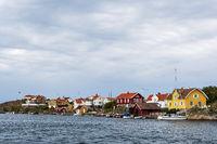 Gebäude in Kyrkesund in Schweden