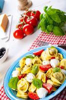 delicious antipasti tortellini pasta salad