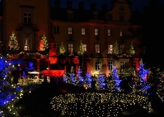 Schloss Schaumburg-Lippe Weihnachtsdeko