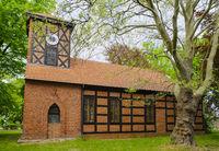 Dorfkirche Wutzetz, Landkreis Havelland, Brandenburg, Deutschland