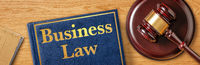 A gavel with a law book - Business Law