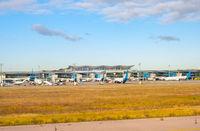 Airfield, airport, planes, terminal, Boryspil