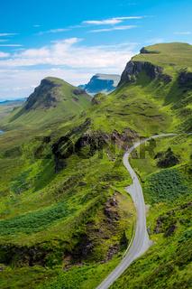 Die Quiraings auf der Isle of Skye