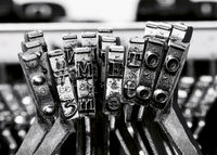 # me too with old typewriter macro