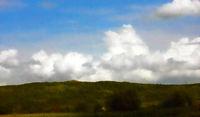 Cloudscape in watercolors
